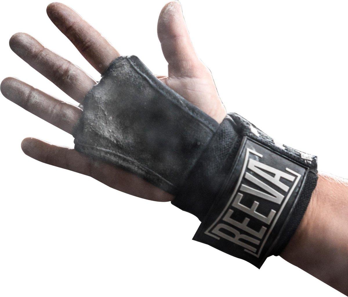 Reeva Gear Sporthandschoenen Unisex - Zwart - Maat M