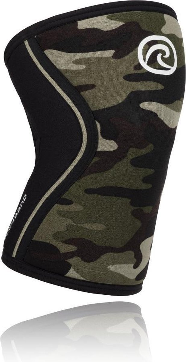 Rehband Knee Sleeve RX Camo 7 mm-Maat M: 35 - 37 cm