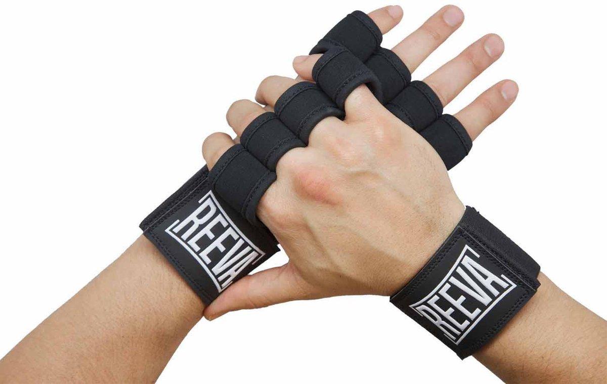 Reeva sporthandschoenen - crossfit handschoenen - geschikt voor fitness en crossfit - medium